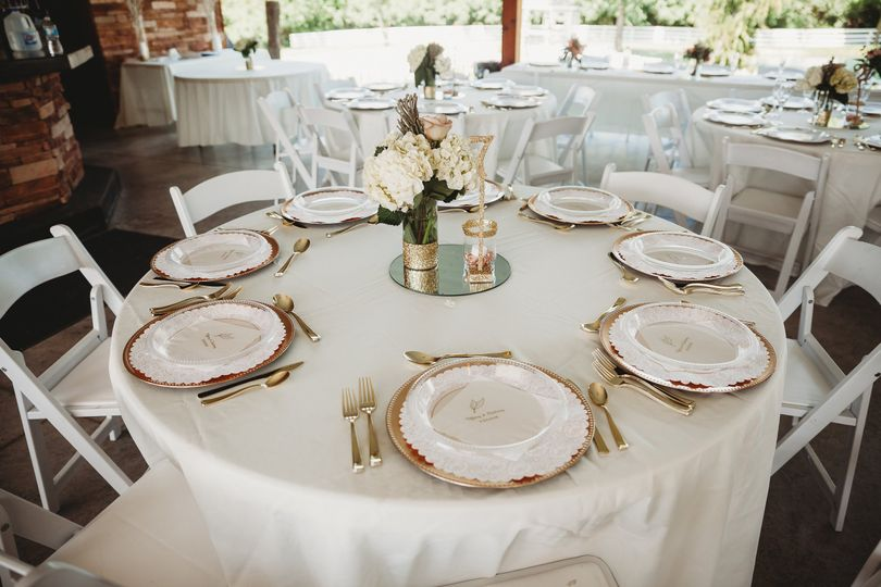 Shelter House, Table Settings