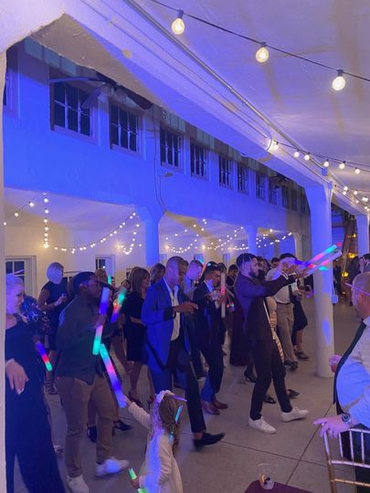 LED fun for the dance floor