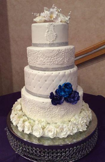 cakes by lara wedding cake boynton beach fl weddingwire