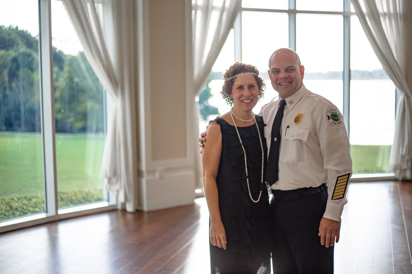 Fire Chief and his Girlfriend