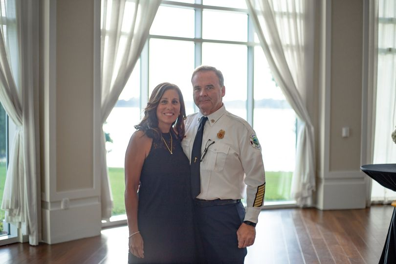 Assisstant Fire Chief and Wife