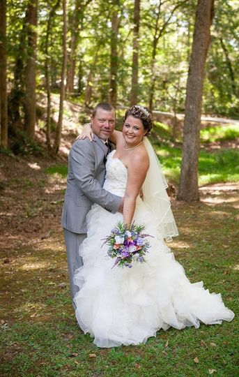 Beautiful bride at Indian Springs State Park in Flovilla, GA. Perfect for an outdoor wedding, but...