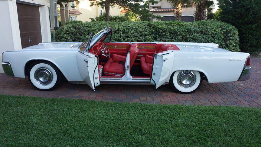 White convertible