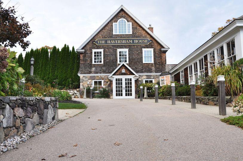 The Haversham driveway
