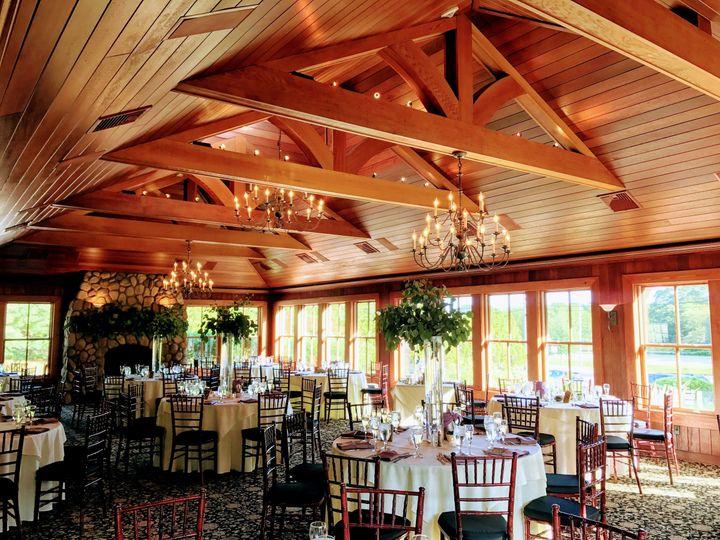 Elegant wedding reception venue