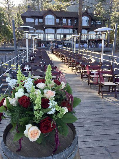 Pier ceremony