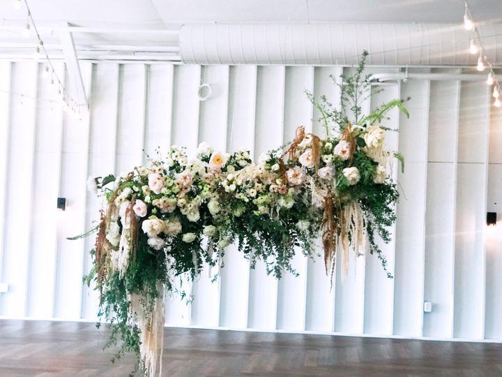 Boho Style Flower Installation