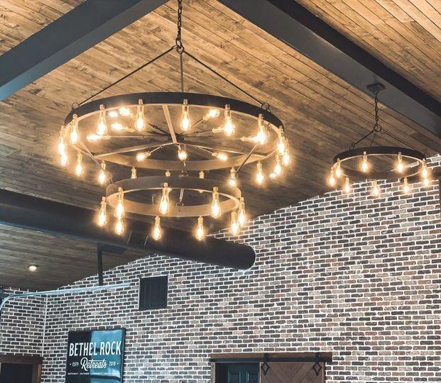 Indoor chandelier