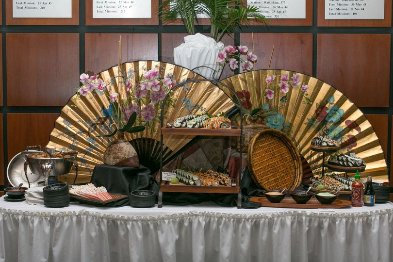 Kyoto Sushi Display Bar
