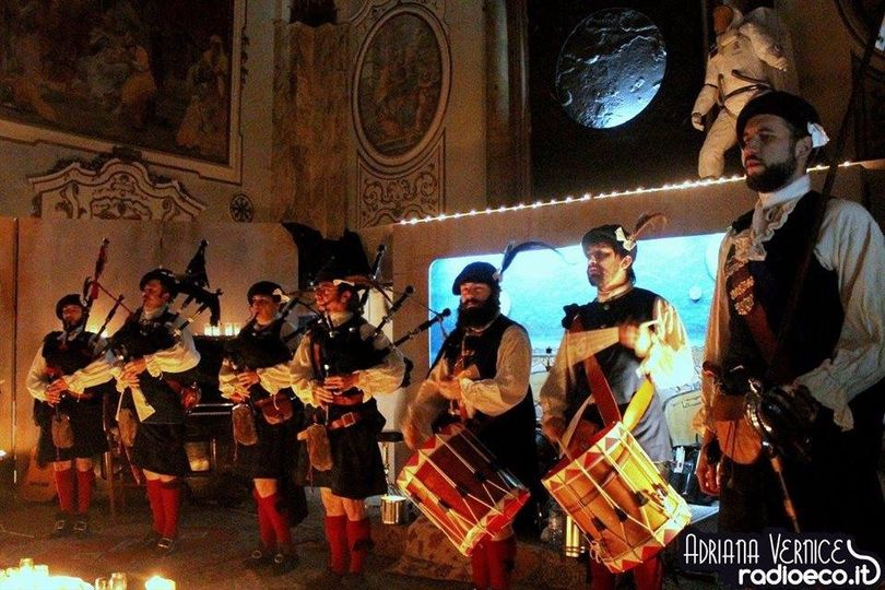Pipe band in Italy