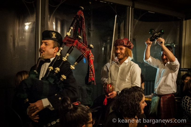 Burns nights in Italy