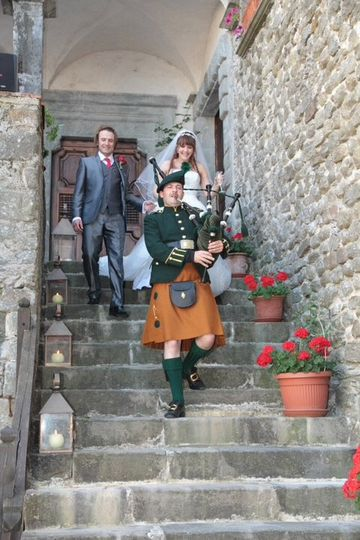 Irish weddings in Italy