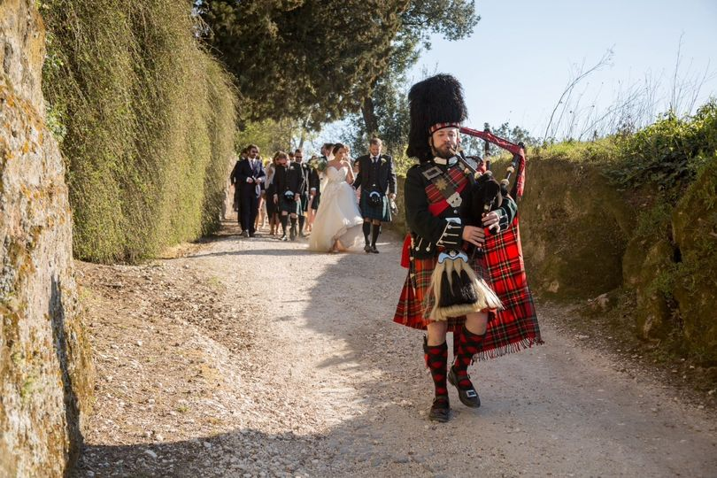 Scottish weddings in Italy