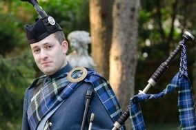 Nick MacVicar - Scottish piper in Italy