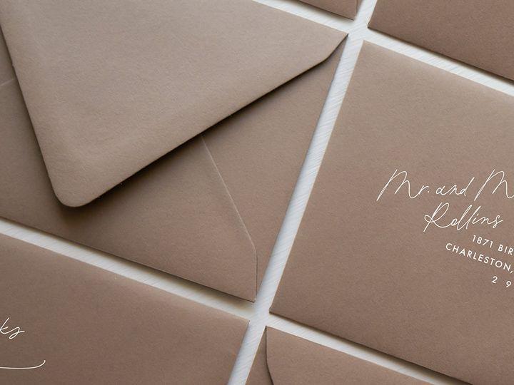 Tmx Papercrush Envelopes Modern Guest Addressing Web 51 1968449 162022481345085 Nashville, TN wedding invitation