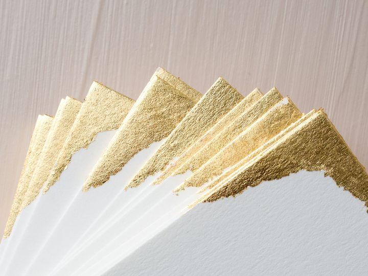 Tmx Papercrush Luxury Gold Leaf Letterpress Wedding Stationery 4x5 51 1968449 162022532432786 Nashville, TN wedding invitation