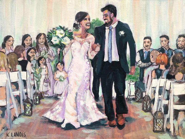 Painting by Kacie Landis