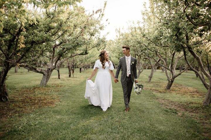 Orchard Bridal Session