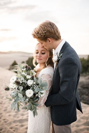 Elopement at the sand dunes