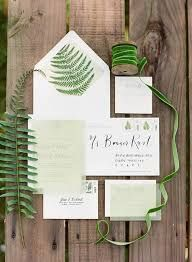 Tropical wedding invite suite