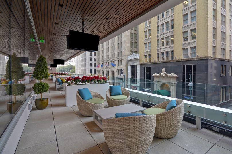 170 Foot Long Grand Balcony