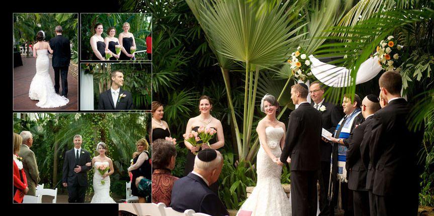 franklin park conservatory wedding album 05
