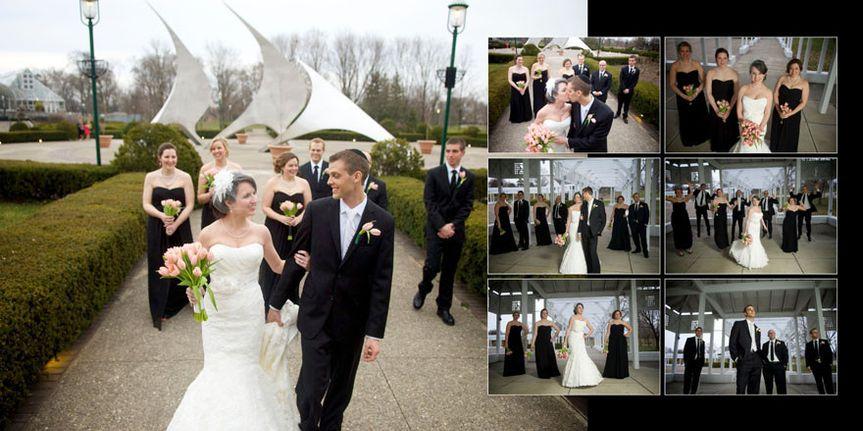 franklin park conservatory wedding album 09
