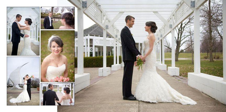 franklin park conservatory wedding album 11
