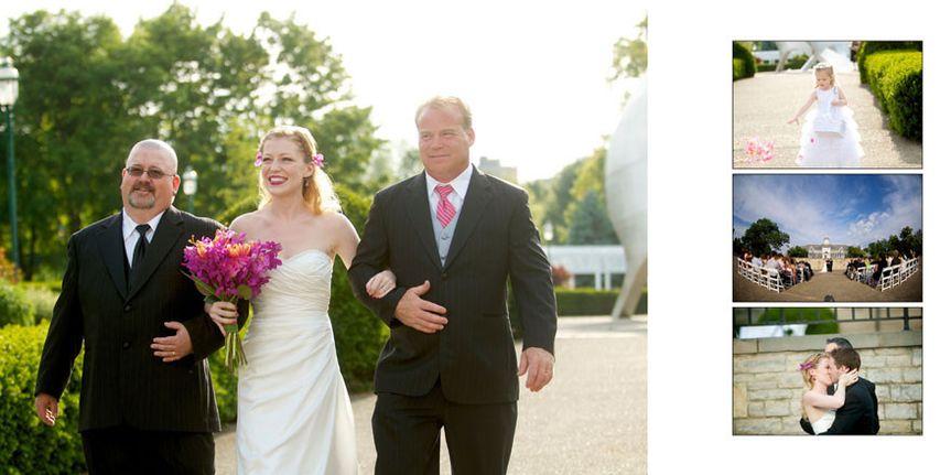 franklin park conservatory wedding album 14