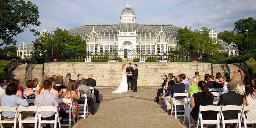 franklin park conservatory wedding album 15