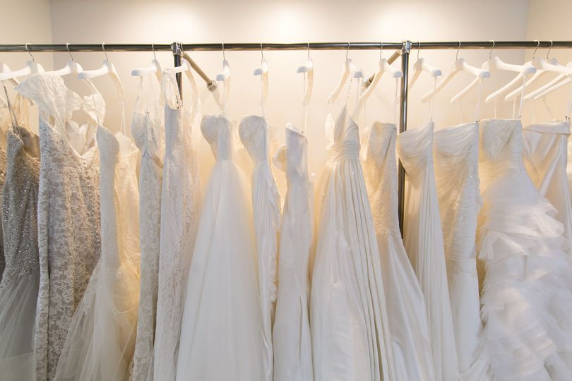 Wedding Dress Designers Include:  Abby Lynn Bridal Allison Webb Angel Rivera Couture Chic Nostalgia...