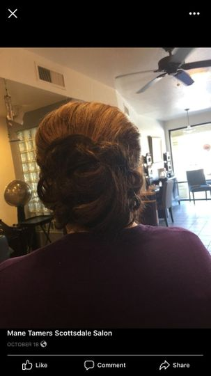 Roller Sets And Updos By Emma Beauty Health Scottsdale Az