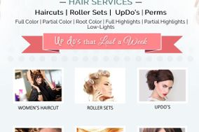 Roller Sets and Updos by Emma