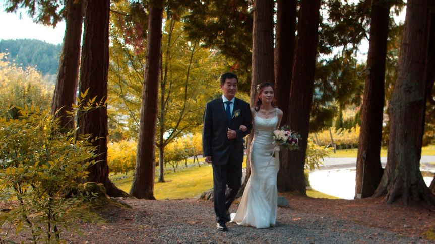 Fairy tale forest wedding