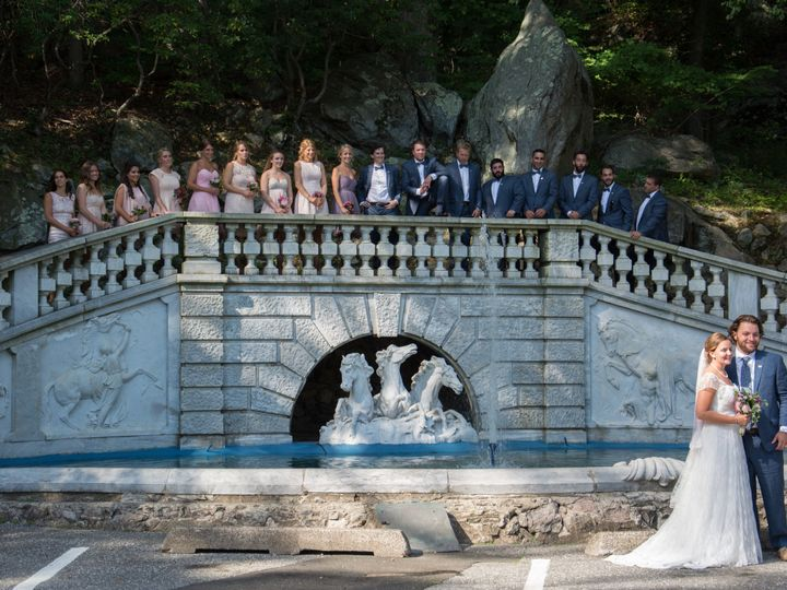 Tmx 1514554070377 Wedding Photo At The Fountain Stamford wedding venue