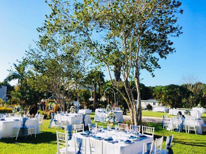 Day garden receptionsetup
