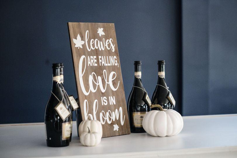 Champagne Decor