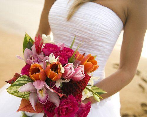 Mauiweddingallcolorsflowers
