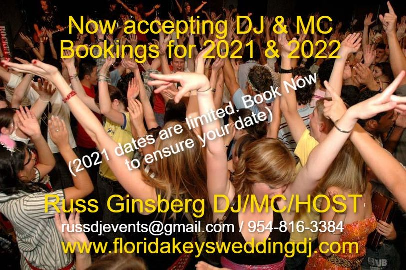 Now Booking for 2021 & 2022