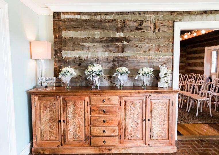 Log Farmhouse Interior