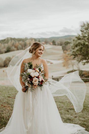 A beautiful bride