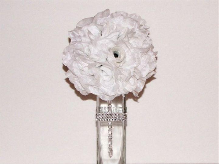 Tmx 1454442146239 6in Open Rose Ball3 Tampa wedding florist