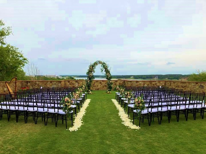 Bella Collina lawn wedding