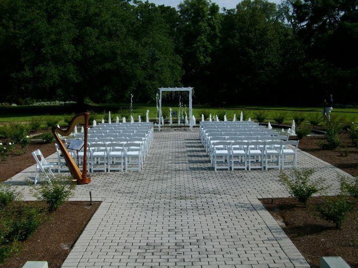 Tmx Rose Garden Behind Guests 51 18549 Orlando, Florida wedding ceremonymusic