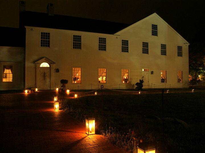 Tmx 1345217376840 OutsideOliverWightCandleLanters2 Sturbridge, MA wedding venue