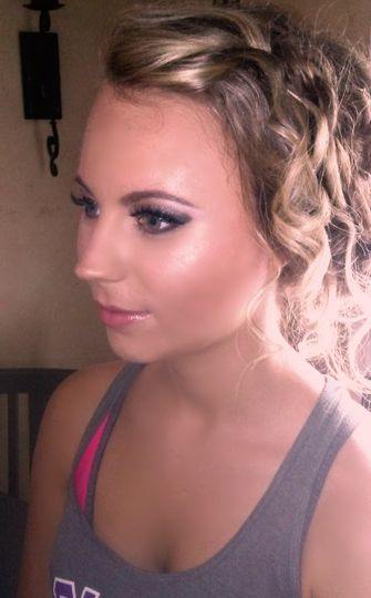 Bridal Hair and Makeup Trial Run
