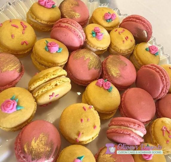 French macarons, GF