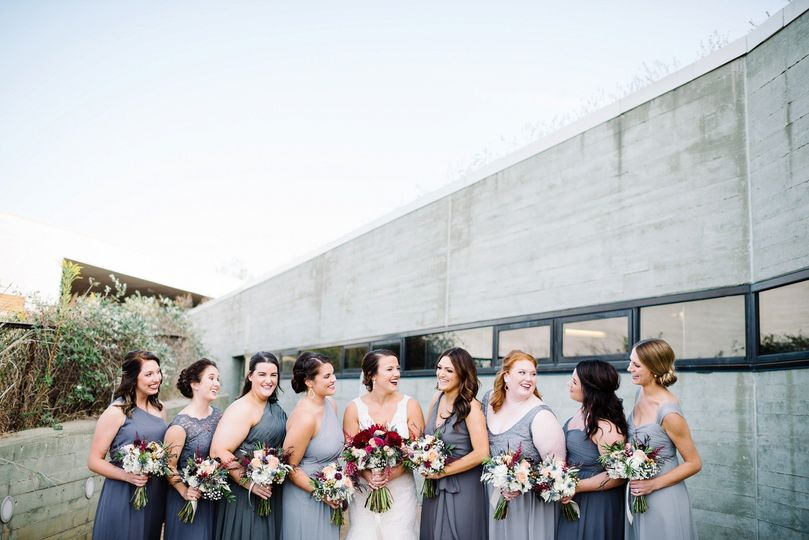 black tie modern nature center wedding 5