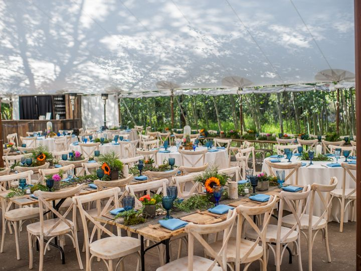 Tmx Tables 51 902649 Idaho Springs, CO wedding venue