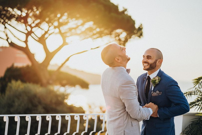 Gay Wedding in Sorrento